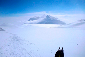 A view of the Antarctica landscape - taken during TA's expedition to climb Antarctica's highest peak (Photo by TA Loeffler)