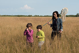 The Forks Prairie Garden is a great outdoor classroom. (Photo by Thomas Fricke)