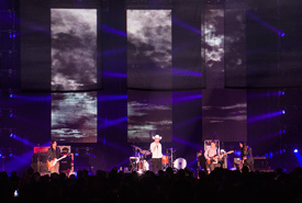 The Tragically Hip in Kelowna, BC, 2015 (Photo by Aven Hoffarth)