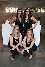 True nOARth team, clockwise from top left: Charlotte Sobolewski, Sandra Farwell, Kristin Jeffery and Colleen Whelan (Photo by Danielle Davies)