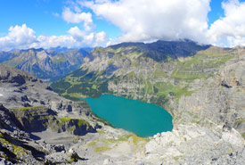 View while hiking in the Swiss Alps. (Photo courtesy Scouts Canada)