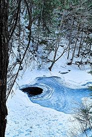 Victoria Park, Truro in winter (Photo by Brittany Foster)