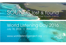 World Listening Day 2016 (Photo by World Listening Project)