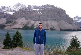 Me in Jasper National Park (Photo by Tazim Hunter)