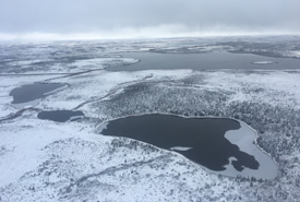 An aerial view of the Arctic landscape (Photo by NCC)