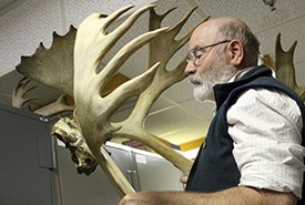 Andrew Hebda is the curator of zoology with Nova Scotia's Museum of Natural History, Halifax. (Photo by Zack Metcalfe)