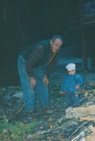 My grandfather with me when I was a toddler (Photo courtesy of Asha Swann/NCC intern)