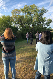 During our walk, we saw many different species of birds. (Photo by NCC)