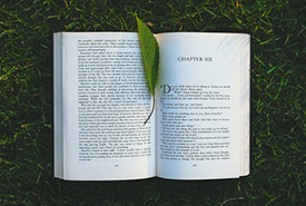 Nature reading list (Photo by Pexels)