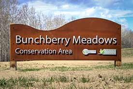 Bunchberry Meadows entrance (Photo by NCC)