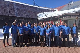 Participants à l'atelier sur les Normes ouvertes organisé par le réseau des coachs de la conservation (Photo de CNC)