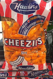 Hawkins Cheezies, a time-honoured post-field day tradition. (Photo by NCC)