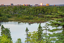 Colpitt Lake inside the future Halifax Wilderness Park (Photo by Adam Cornick)