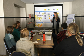 Earlier this year, NCC hosted a week-long workshop for 22 conservation planners from across Canada to learn more about the Open Standards. (Photo by NCC)