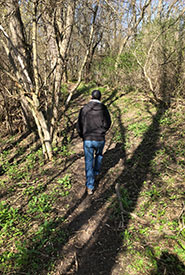 Craig likes to de-stress by exploring natural areas near his home in Ajax, ON. (Photo courtesy of Craig Doucette/NCC staff)