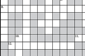 Play the conservation crossword puzzle!