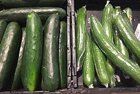 Cucumbers (Photo by Raechel Bonomo/NCC staff)