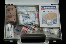 First aid kit (CC0 Public Domain)