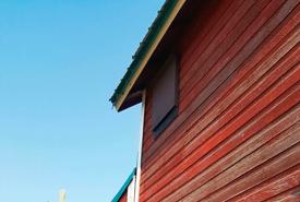 An installed bat box (Photo by NCC)