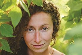 Jessie Klassen, author of <i>The Sapling</i>.