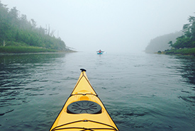 Paddling in Musquodoboit Harbour (Photo by NCC)