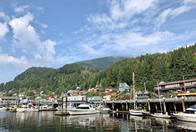 Ketchikan Harbour (Photo by Justine Coutu)