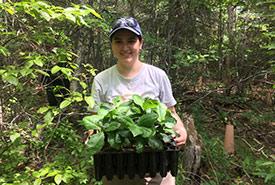 Laura Rincon, former GIS intern for NCC's Atlantic region (Photo by NCC)