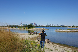 Leslie Street Spit is a popular birding spot in the heart of Toronto, ON (Photo by Wendy Ho/NCC staff)