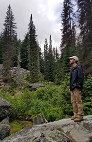 Exploring Yoho National Park (Photo by Kayla Burak/NCC staff)