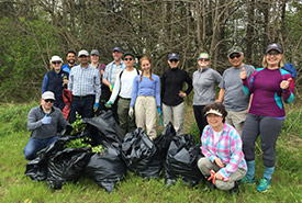 My team picked the most garlic mustard. (Photo by NCC)
