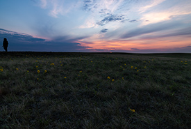 Sunset at OMB, SK (Photo by Cameron Wood/NCC staff)