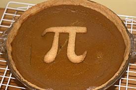 Pi pie (Photo by Wikimedia Commons, Paul Smith)