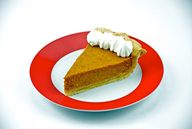 Pumpkin is most commonly eaten as pumpkin pie. (Photo by Alachua County CC BY-2.0)