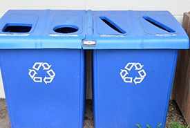 Three Rs: reduce, reuse and recycle, but it is best to first reduce and reuse and then, if necessary, recycle. (Photo by  Virginia State Parks, CC BY 2.0)