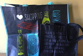 Reusable shopping bags (Photo by Raechel Bonomo/NCC staff)