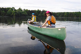 Portaging will take your canoe and camping adventures to the next level and help you explore nature's hidden gems. (Photo by Scouts Canada)
