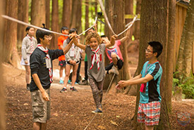 Where better to start contributing to forest conservation than within the Scouting community, where youth strive to enjoy, explore and protect nature every day? (Photo by Scouts Canada)