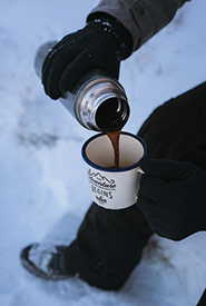 Enjoy a hot cuppa at the end of an outing. (Photo by Unsplash, Simon Migaj)