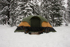 It's important to camp only at designated campsites. (Photo by Pixabay)