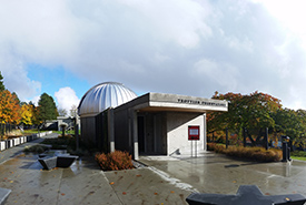 Simon Fraser University Trottier Observatory (Photo by Sarah Savić Kallesøe)