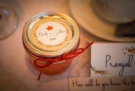Homemade, locally sourced jam was our favours. (Photo by Wynn Photo)