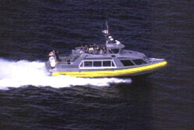 Whale watching tour boat, Vancouver Island (Photo by ehCanadaTravel.com)