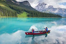 Emerald Lake, Yoho National Park, BC (Photo by The Earth)