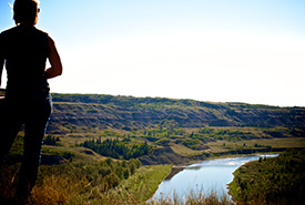 Fyten Lea property overlooking the Red Deer River, AB (Photo by NCC)