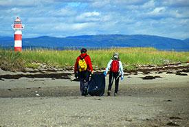 Sandy Point Beach Sweep 2016, NL (Photo by Aiden Mahoney)