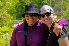 Volunteers at the Carden Dragonfly Count in Ontario (Photo by Leanne Gauthier-Helmer)