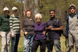 Volunteers at Severn Woodlands Nature Reserve, ON (Photo by Nicole Evelyn Senyi)