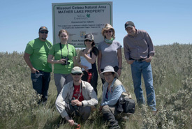 Group shot at the Mather Lake census (Photo by Gail F. Chin)