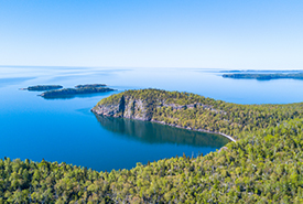 Big Trout Bay Lake Superior,ON (Photo by Costal Productions)