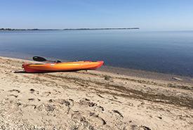 Kayak; Photo by J. Pelc